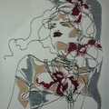 """Ladies Scoop Neck- Dolman Sleeve knit T-Shirt """"Ladies In Line"""" page 2/2"""