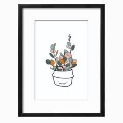 Plant - Coin Leaves Art Printable