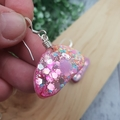 Sparkly Unicorn Glitter - organic Hook Dangle earrings