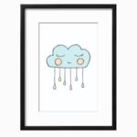 Cloud Boy Art Printable