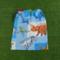 Boys large library bag, 8 fabrics, large drawstring daycare sheet bag or toy bag