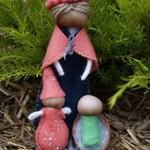 Yarn doll trio