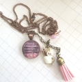 planner necklace, planner jewellery, charm necklace, handmade pendant, jewelry