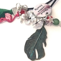 tropical planner bookmark, paradise planner cord, tropical planner accessories,