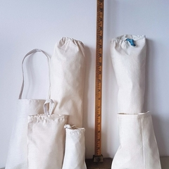 Multi-use bags multiple sizes  x 5