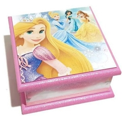 Princess Themed Keepsake, Trinket, Treasure, Jewellery Wooden Box Pink