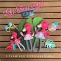 Flamingo Softie - Medium