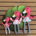 Flamingo Softie - Small