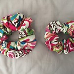 Adult Scrunchies-  Paisley
