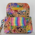 Rainbow clutch / bag