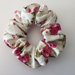 Adult Scrunchies-  Pink Roses