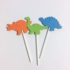 Dinosaur Cupcake toppers. Birthday party banner. Dino baby shower first birthday