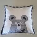 Woodland nursery cushion set of three