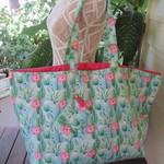 Beach Bag, Shopping Tote with detachable Coin Purse