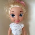 Disney Doll in Pink Overalls + Bonus Gift