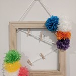 Mini PomPom Peg board