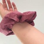 Adult Scrunchies-  Mauve