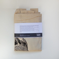 Screen printed robin calico shoulder bag