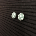 Handmade Button Earrings - Polka Dot