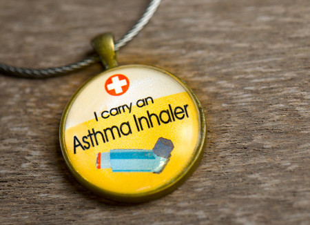 Medical Alert, Medic Alert Bag Tag - Inhaler