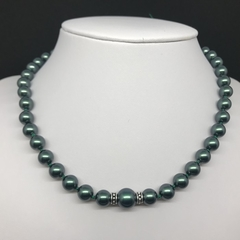 Swarovski Tahitian Pearl Necklace