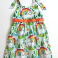 "Size 5  ""Rainbow Unicorn"" Dress"