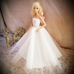Glamorous dolls ball gown  shoes included code: MD09