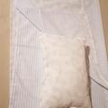 Cotton Infant Pram/bassinet sheet set with pillow 3 pc set