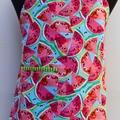 Watermelon Dreams girls one piece apron
