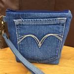 Upcycled Denim Pocket Pouch