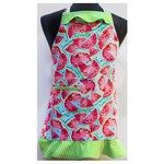 Watermelon Dreams girls one piece apron