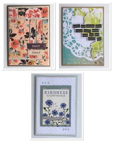 Assorted Handmade Cards - Motivational
