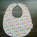 Waterproof Butterfly Baby Adjustable Dribble Bib