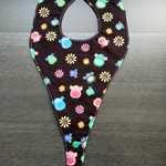 Waterproof Dribble dummy/teether Bib