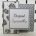 Deepest Sympathy - Birthday Card