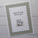 Some Bunny Loves You - Sweet Valentine's Day Card