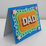 Unique, Handmade Card for Dad | Birthday, Fathers Day, Get Well Soon, Thank You