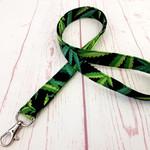 Medical Marijuana Advocate Lanyard ID Badge Key Holder