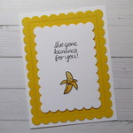 I've Gone Bananas For You! - Sweet Valentine's Day Card