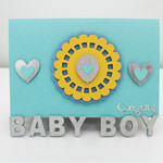 Unique, Handmade Congrats on your Baby Boy Card | Card for Baby Shower, Baby Boy