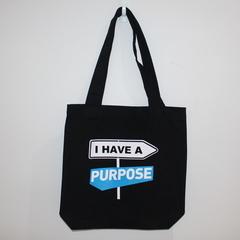 I have a purpose Tote 100% cotton canvas One size 42cm x 42cm
