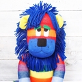 'Lester' the Rainbow Sock Lion - *MADE TO ORDER*