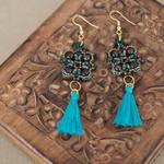 Exotic Beaded Earrings