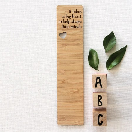 Teacher Bookmark Bamboo Thank You Gift