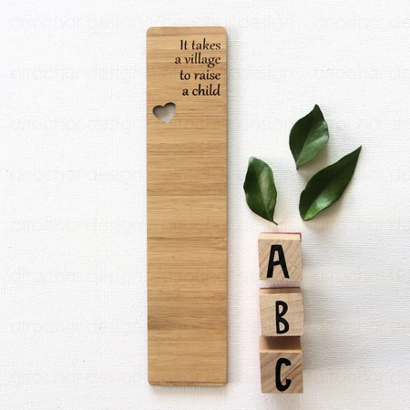 Teacher Bookmark Bamboo Thank You Gift