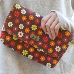 Mini Clutch - Spring Flowers