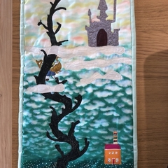 Jack and the Beanstalk Art Quilt