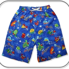 SIZE 0 Sea Creatures Long Shorts