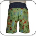 SIZES 00, 0 & 1 ROBOTS and ALIENS Cotton Shorts