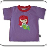 SIZE 2 Handmade Mermaid T-shirt